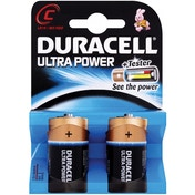 Duracell Ultra Power C Size 2 Pack MX1400B2