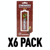 Cola (Pack Of 6) Chewits 3D Hanging Air Freshener