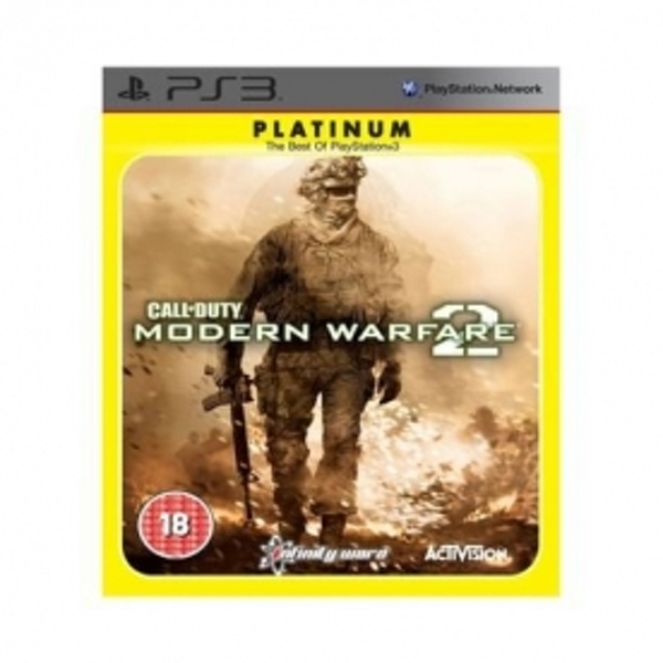 Call Of Duty 6 Modern Warfare 2 Game (Platinum) PS3 - Image 1