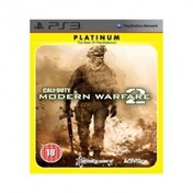 Call Of Duty 6 Modern Warfare 2 Game (Platinum) PS3