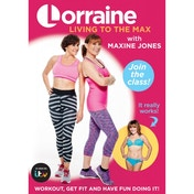 Lorraine Kelly: Living to the Max (with Maxine Jones) DVD