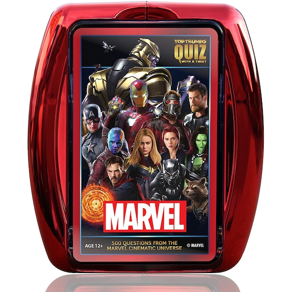 Marvel Cinematic Top Trumps Card Game