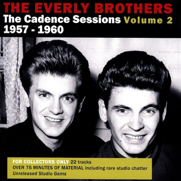 Everly Brothers - The Cadence Sessions 1957-1960 CD