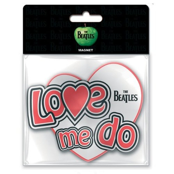 The Beatles - Love Me Do Rubber Magnet