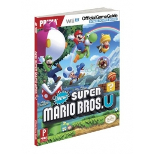New Super Mario Bros Wii U Official Strategy Game Guide