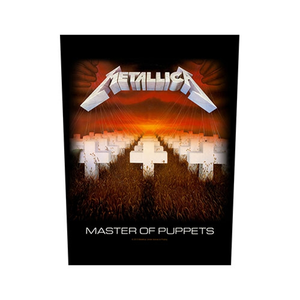Metallica - Master of Puppets Back Patch