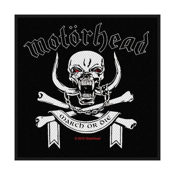 Motorhead - March Or Die Standard Patch
