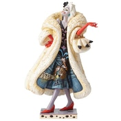 Devilish Dognapper Cruella (101 Dalmatians) Disney Traditions Figurine