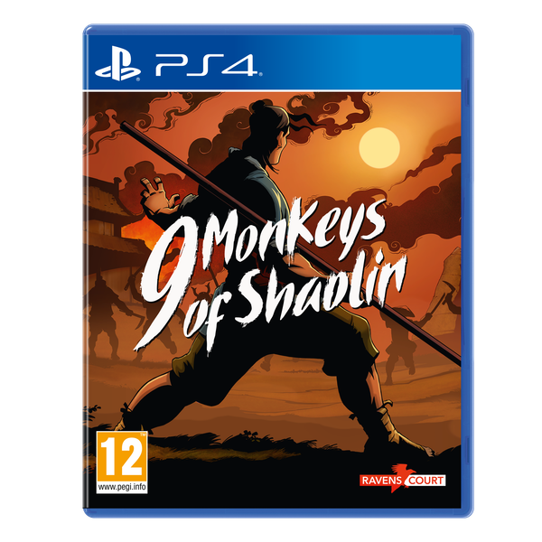 9 Monkeys of Shaolin PS4 Game