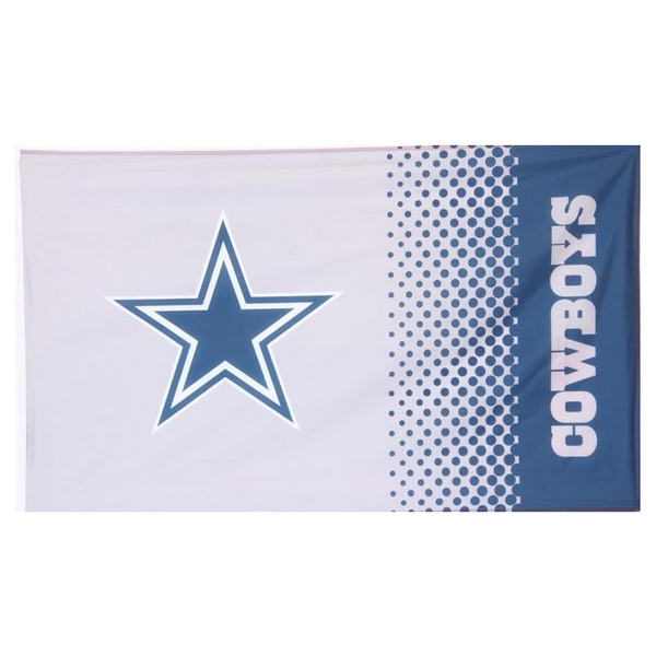 Dallas Cowboys Fade NFL Flag 5 x 3