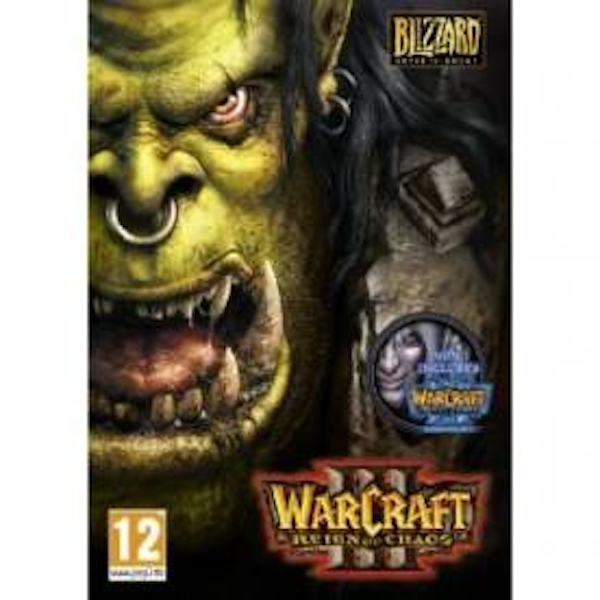 Warcraft III 3 Gold Edition Game PC