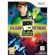Ex-Display Ben 10 Alien Force Vilgax Attacks Game Wii Used - Like New