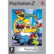 Ex-Display The Simpsons Hit & Run Game (Platinum) PS2 Used - Like New