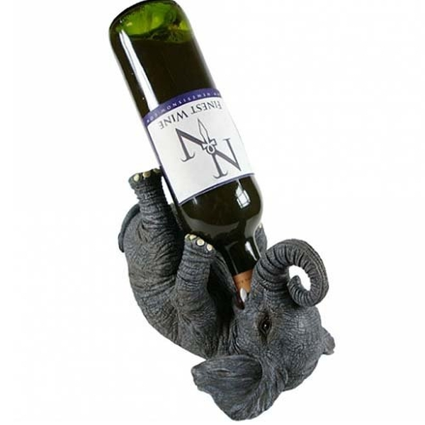 Guzzlers Elephant Wine Bottle Holder