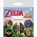 The Legend Of Zelda Badge Pack - Image 2
