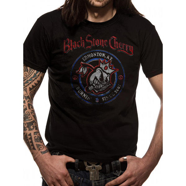 Blackstone Cherry - Since 2001 Men's Small T-Shirt - Black
