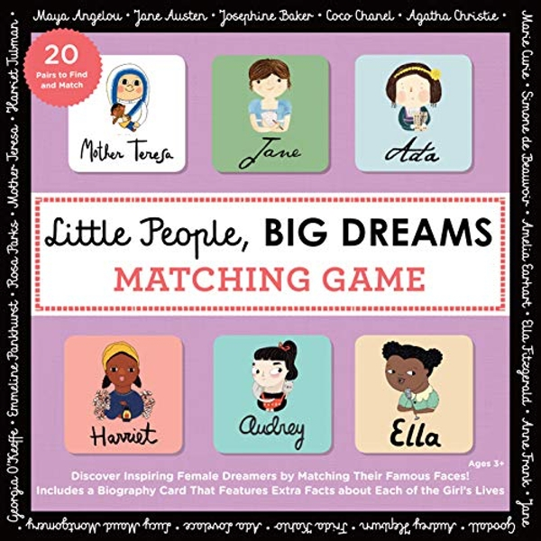 Little People, BIG DREAMS Matching Game Put Your Brain to the Test with All the Girls of the Little People, BIG DREAMS Series! Kit 2018