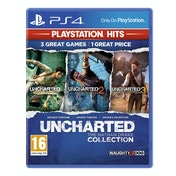 Uncharted The Nathan Drake Collection PS4 Game (PlayStation Hits)
