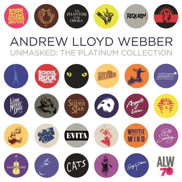 Andrew Lloyd Webber - Unmasked: The Platinum Collection CD