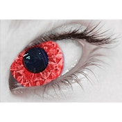 Rizzy Red MesmerGlow UV Cosmetic Lenses 1 Month