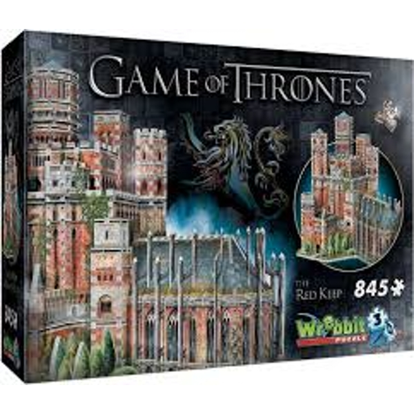 Wrebbit 3D Game of Thrones: Red Keep 845 Piece 3D Jigsaw Puzzle