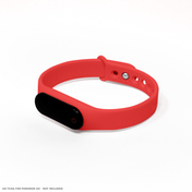 GO-TCHA Wristband Straps for Pokemon Go (Wristband Only) Red