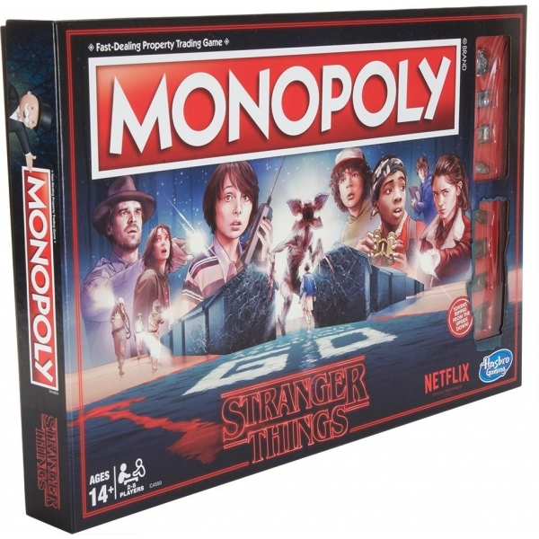 Ex-Display Stranger Things Monopoly Board Game Used - Like New