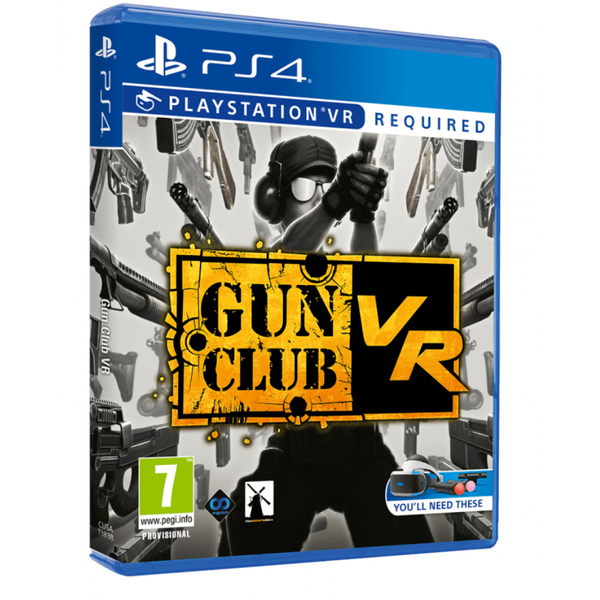 Gun Club VR PS4 Game (PSVR Required)
