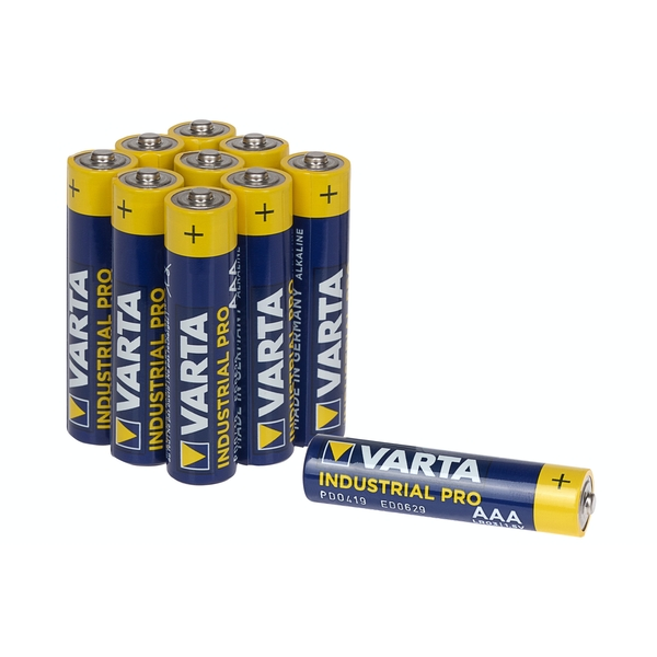 Varta Industrial AAA Alkaline Battery Pack of 40