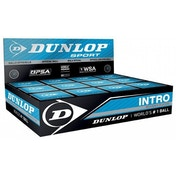Dunlop Intro Squash Balls 1 Ball Box 12