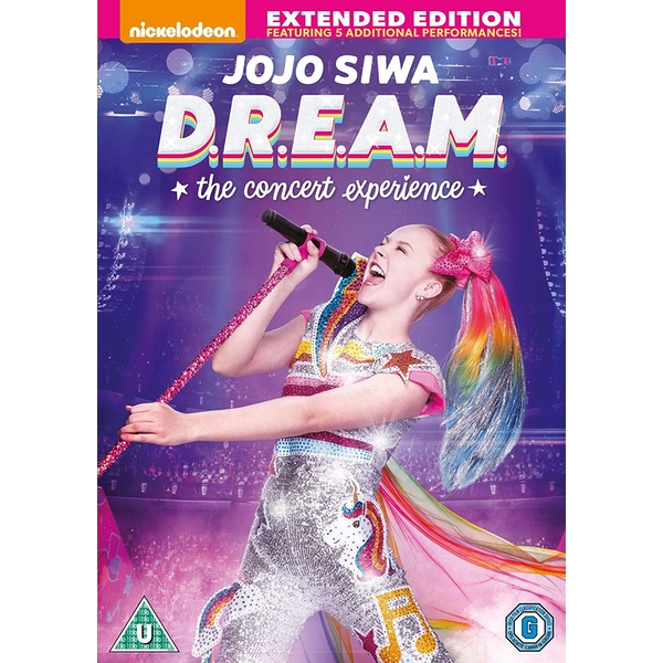 JoJo Siwa: D.R.E.A.M. The Concert Experience - Extended Edition DVD