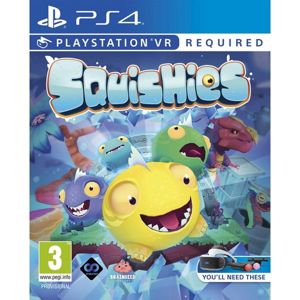 Squishies PS4 Game PSVR (PSVR Required) - Image 1
