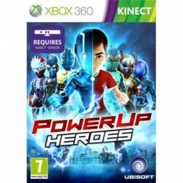 Kinect PowerUp Heroes Game Xbox 360