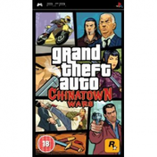 Grand Theft Auto GTA Chinatown Wars Game PSP