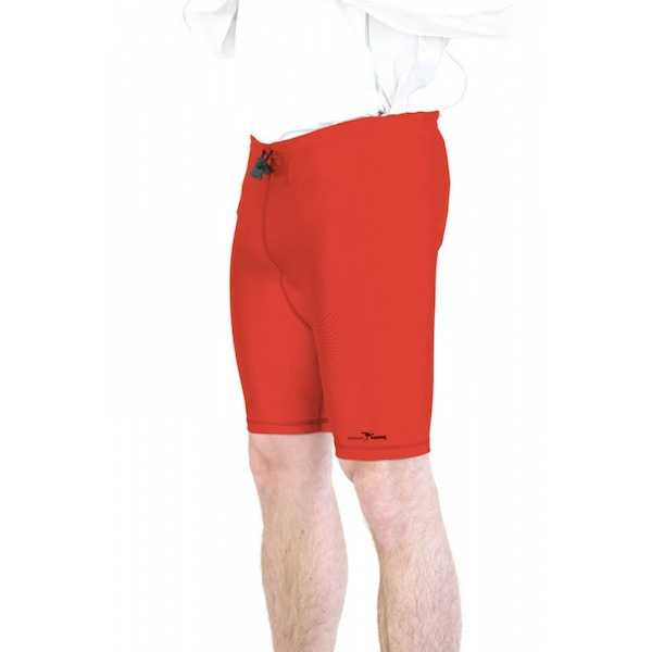 Precision Lycra Shorts Red 22-24