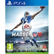 Madden NFL 16 PS4 Game