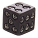 Set of 5 Black Skull Dice - Image 2