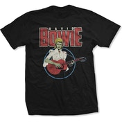 David Bowie - Acoustic Bootleg Men's X-Large T-Shirt - Black