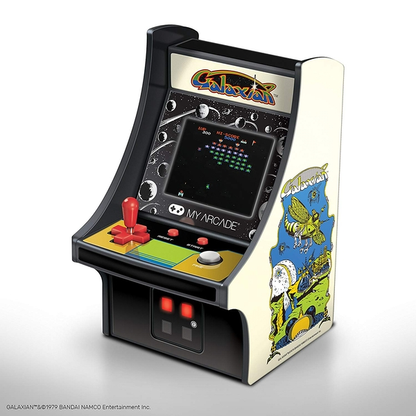 Galaxian 6 Inch Collectible Retro Micro Player - Image 1