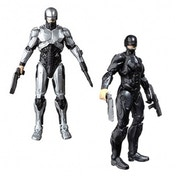 Robocop 2014 6 inch Light up Silver 1.0 Action Figure