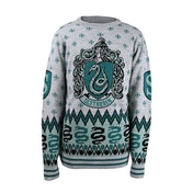 Harry Potter - Slytherin Crest Unisex Christmas Jumper Small
