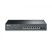 TP-LINK T1500G-10MPS Managed L2 Gigabit Ethernet (10/100/1000) Power over Ethernet (PoE) 1U Black network switch