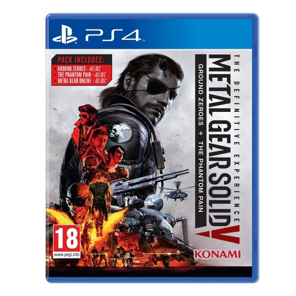 Metal Gear Solid V Definitive Experience PS4 Game