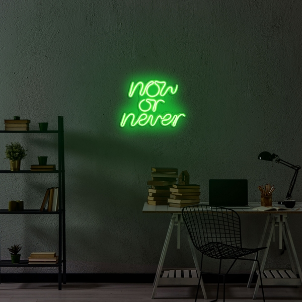 Now or Never - Green Green Wall Lamp