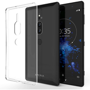 Sony Xperia XZ2 Premium Ultra Thin TPU Gel - Clear