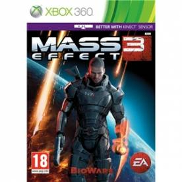 Mass Effect 3 (Kinect Compatible) Game Xbox 360
