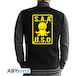 Assassination Classroom - S.A.A.U.S.O Men's XX-Large Hoodie - Black - Image 2