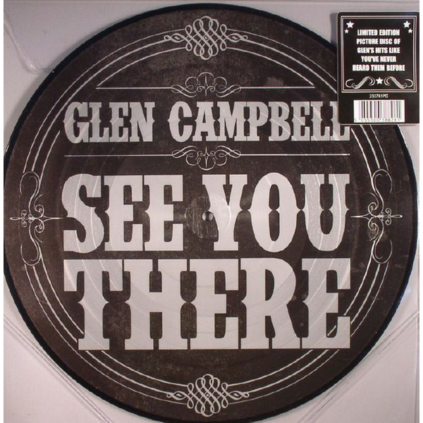 Glen Campbell ‎- See You There Vinyl