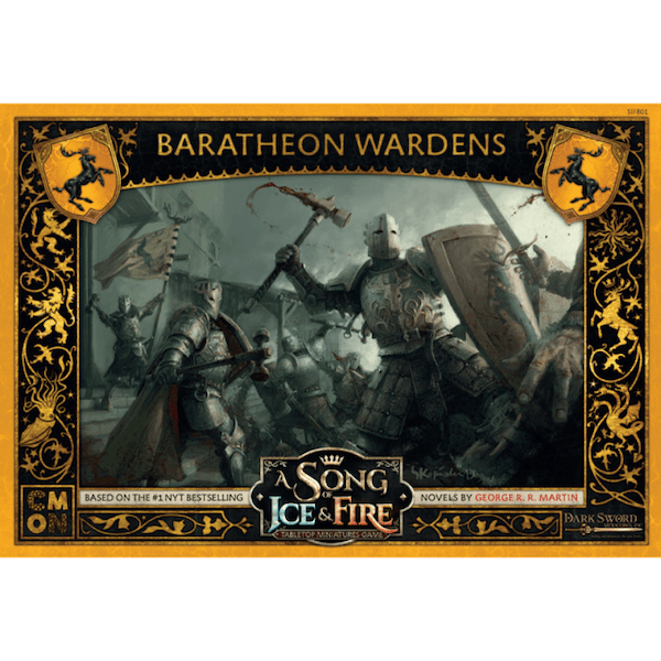 A Song Of Ice and Fire  Baratheon Wardens Expansion