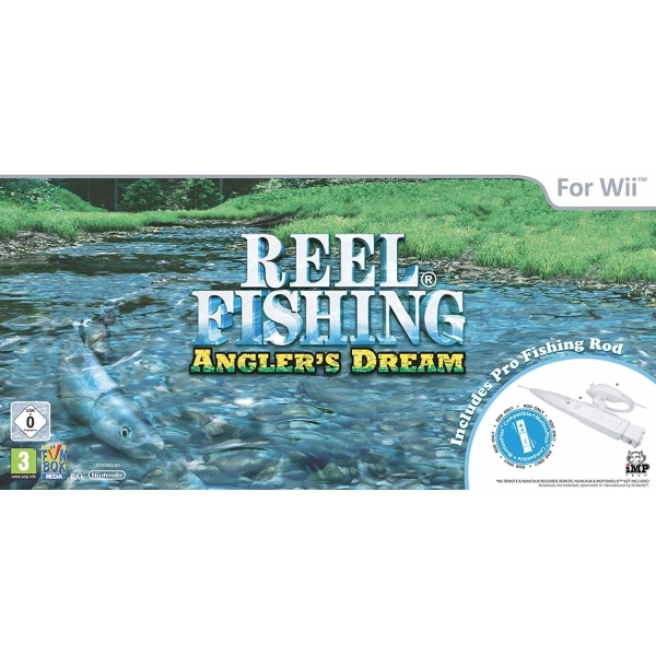Reel Fishing Anglers Dream Pro Fishing Rod Wii [Rod Only]
